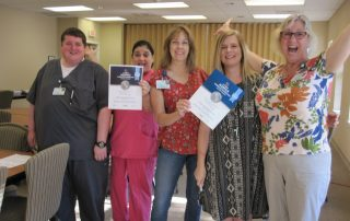 HCC Staff With Award