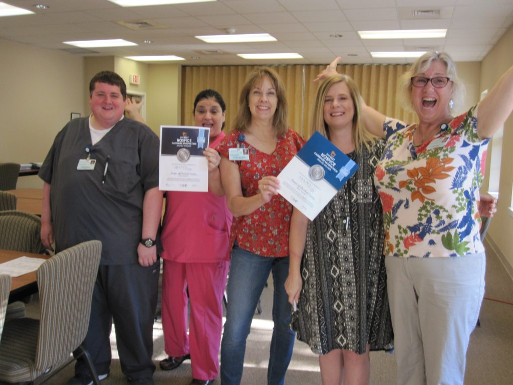 HCC Staff With Award